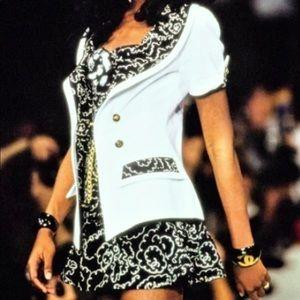 Iconic Chanel Vintage Spring 1993 Camellia Corset